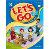 Let'S Go 3 Student Book With Cd Pack - Fourth Edition - Karen Frazier, Ritsuko Nakata, Elaine Cross