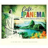 Box - Café Ipanema - Trilogy (3 Cds) - Varios (CD) -