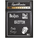 The Beatles + The Who + LED Zeppelin + Pink Floyd + Rolling Stones (DVD) - Vários (veja lista completa)