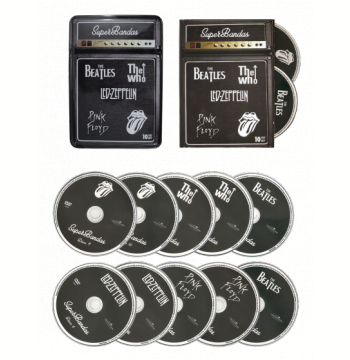 The Beatles + The Who + LED Zeppelin + Pink Floyd + Rolling Stones (DVD)