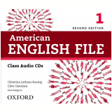 American English File 1 Class (5 Cds) - Second Edition (CD) -
