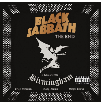 Black Sabbath - The End - 4 February 2017 Birmingham (CD)
