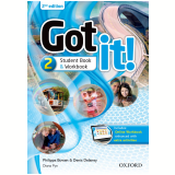 Got It! 2 - Student Book - Workbook With Digital