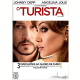 O Turista (DVD) - Angelina Jolie, Johnny Depp, Paul Bettany