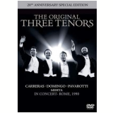 The Original Three Tenors - 20th Anniversary Special Edition (DVD) - Luciano Pavarotti, Plácido Domingo, José Carreras