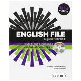 English File Beginner Multi-pack B With Itutor & Onl Skills - Third Edition -