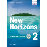 New Horizons 2 Student Book Cd Included - Radley, Simons