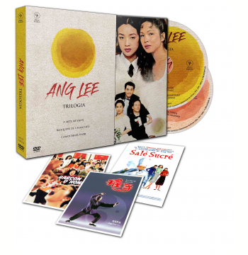 Trilogia  - Ang Lee - Com 3 Cards (DVD)