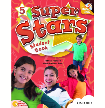 Super Stars 5 Student Book With Multirom Pack