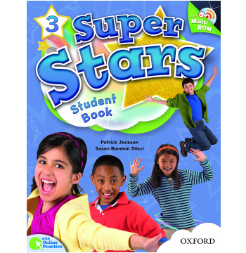 Super Stars 3 Student Book With Multirom Pack