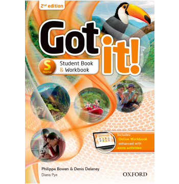 Got It! Starter - Student Book - Workbook With Digital - Workbook - Second Edition
